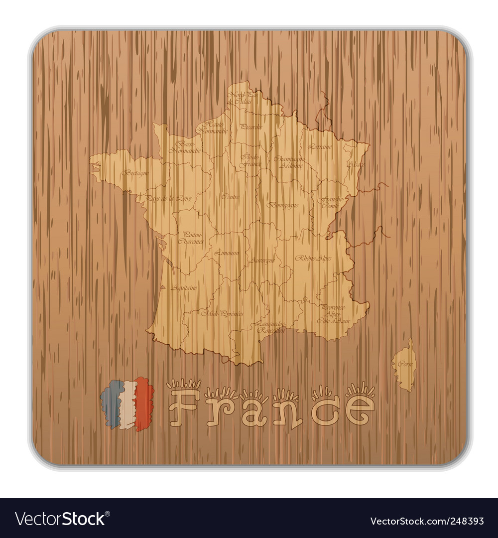 France map vector | Price: 1 Credit (USD $1)