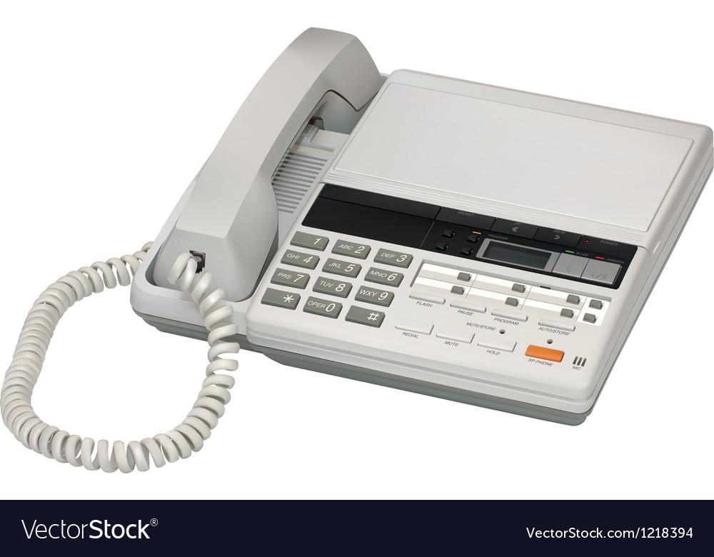 Answerphone vector   Price: 3 Credit (USD $3)