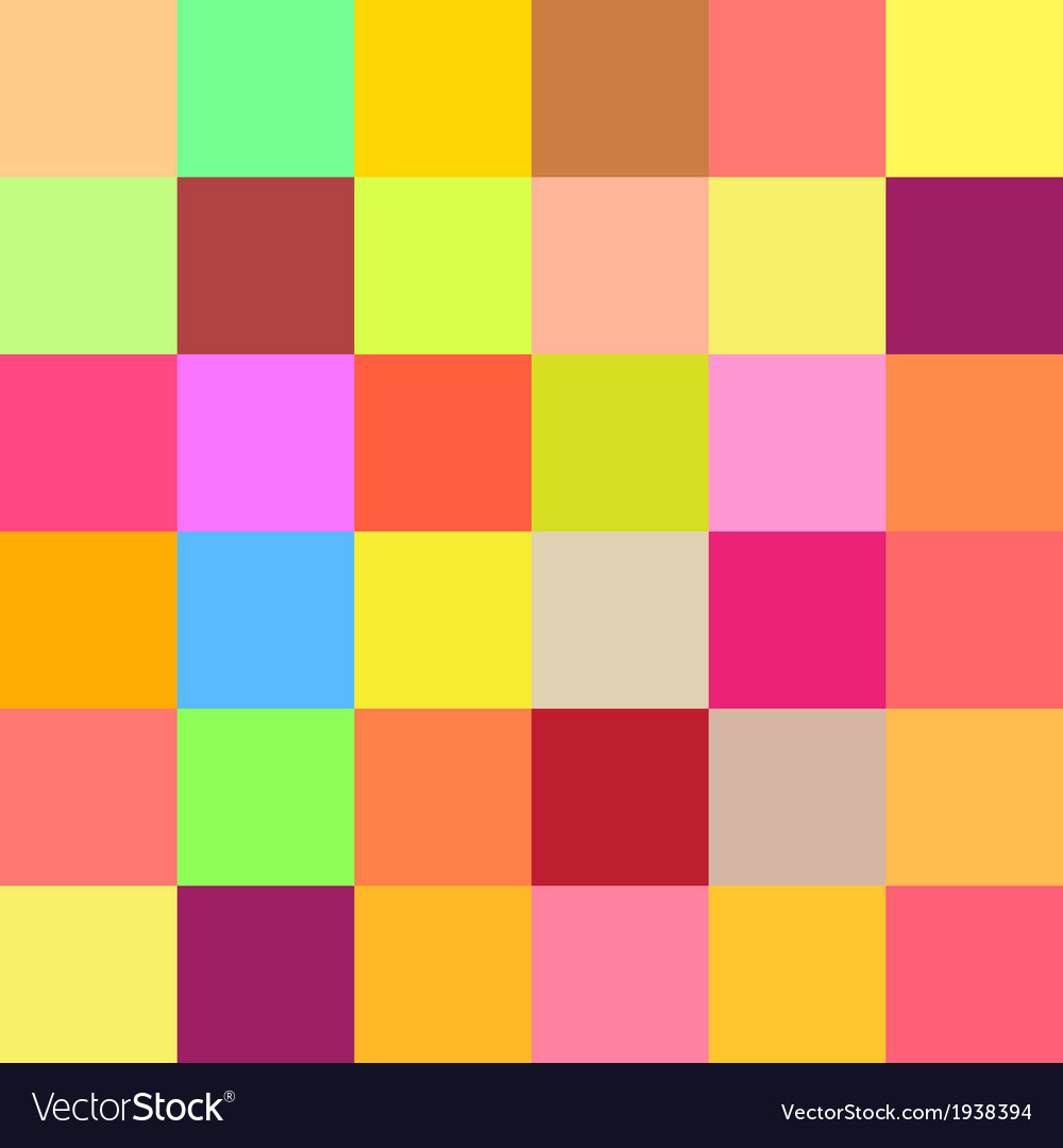 Colorful mosaic background vector | Price: 1 Credit (USD $1)