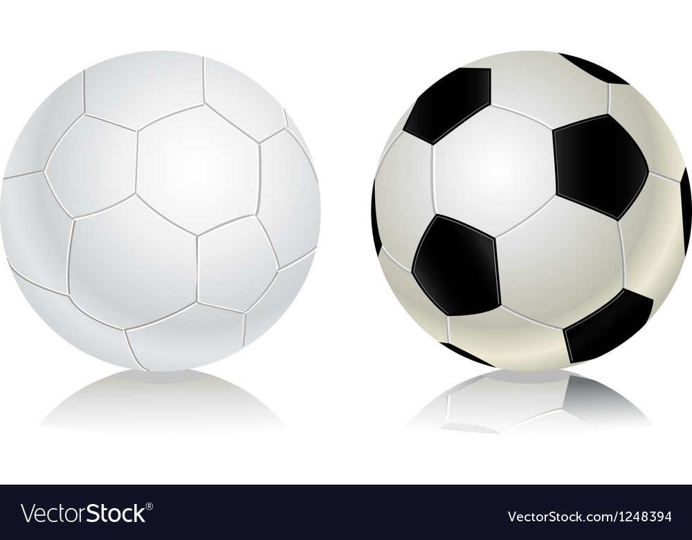 Soccer balls icon set vector | Price: 1 Credit (USD $1)