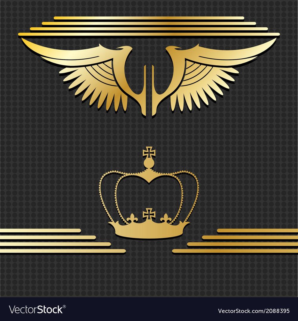 Golden design elements vector | Price: 1 Credit (USD $1)