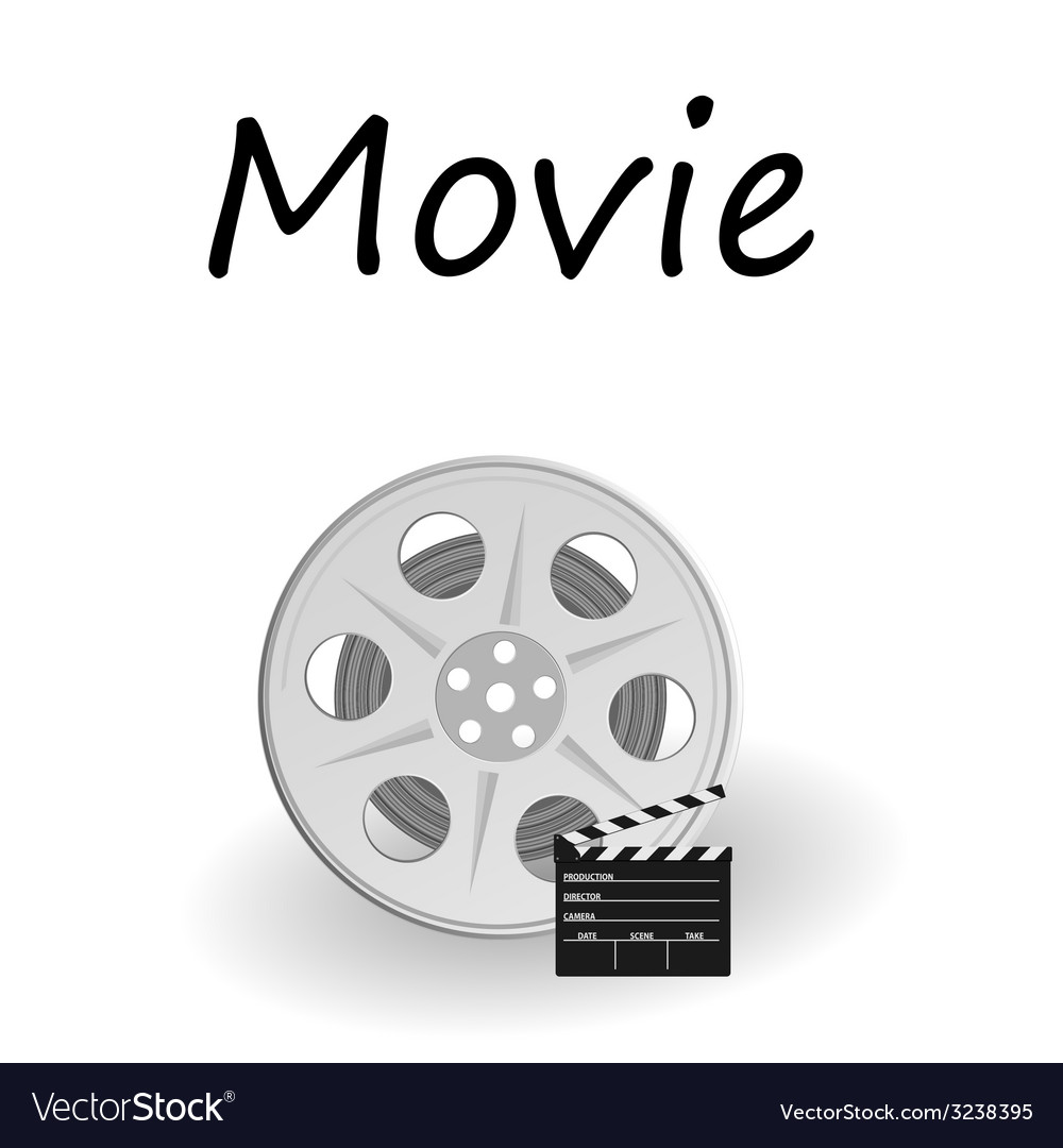 Movie sign vector | Price: 1 Credit (USD $1)