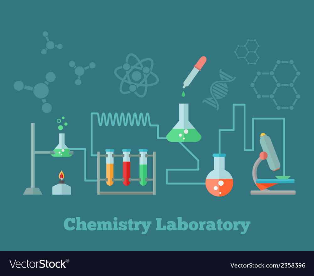 Chemistry research concept vector | Price: 1 Credit (USD $1)