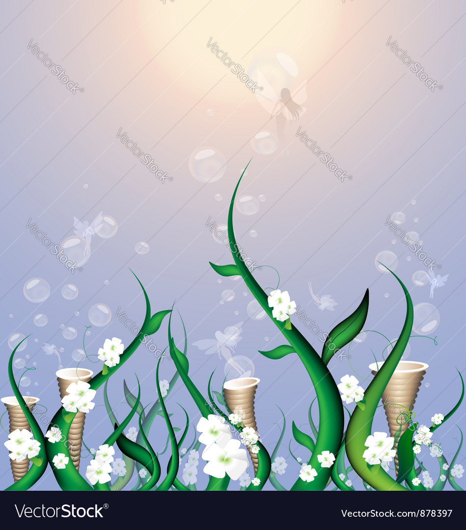 Field of fairy vector | Price: 1 Credit (USD $1)