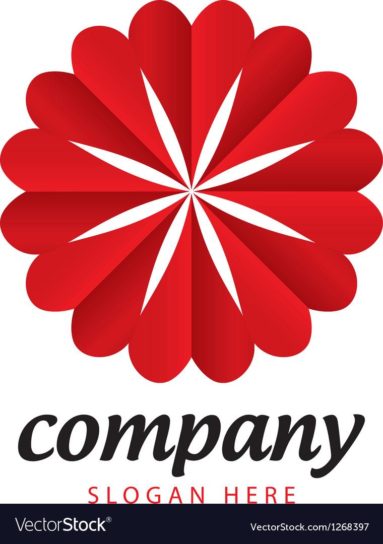 Logo holiday hearts vector   Price: 1 Credit (USD $1)