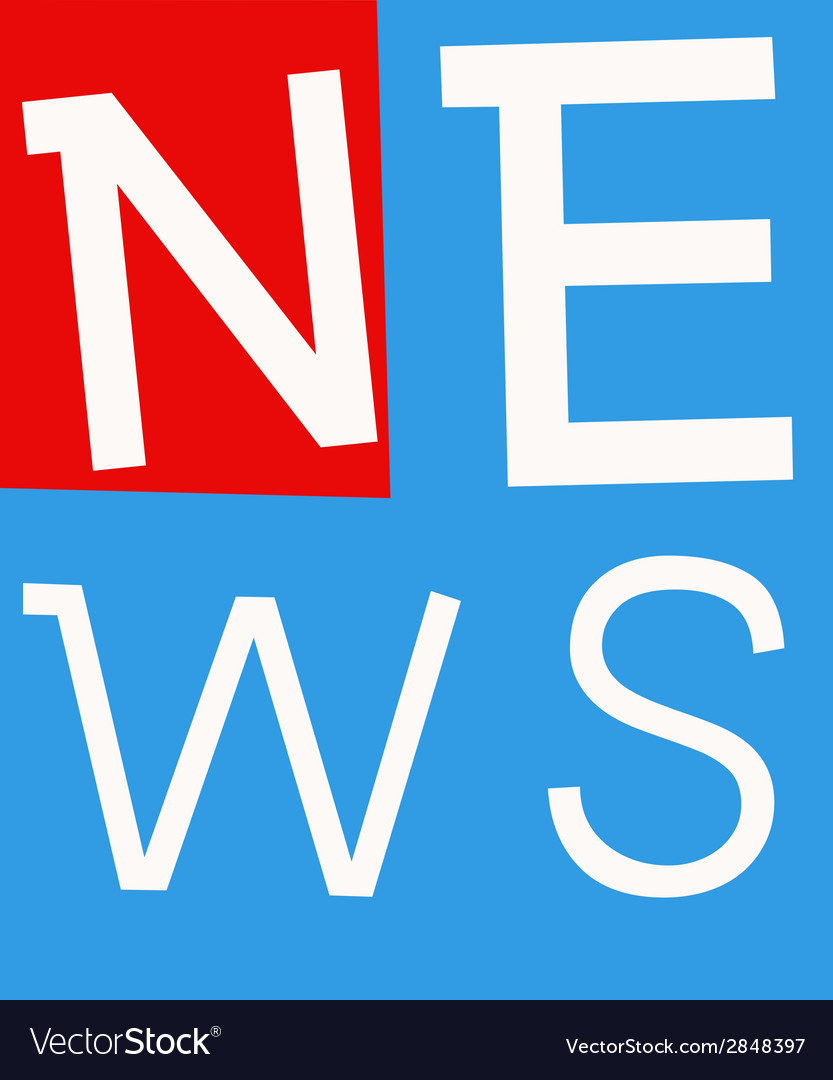 News labels vector | Price: 1 Credit (USD $1)