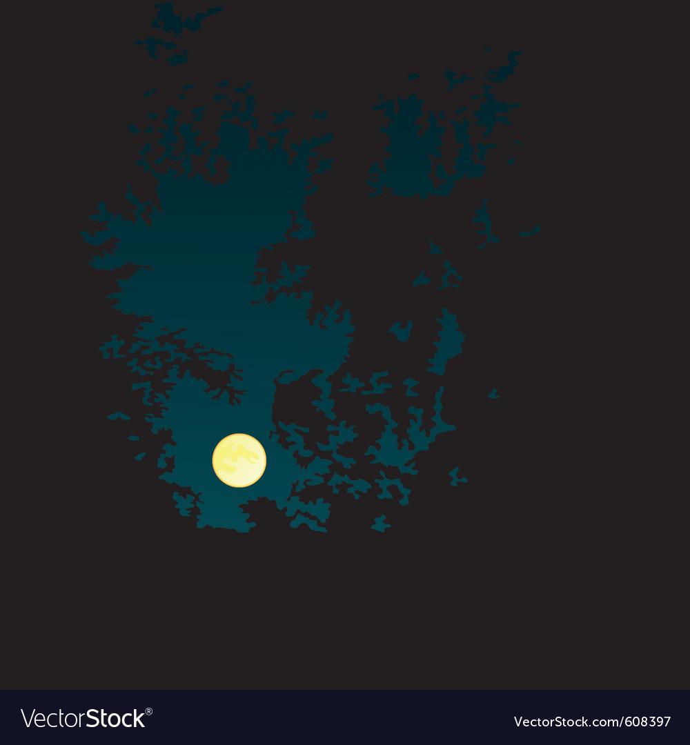 Night landscape vector   Price: 1 Credit (USD $1)