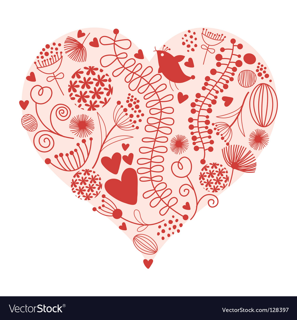 Valentines card vector   Price: 1 Credit (USD $1)