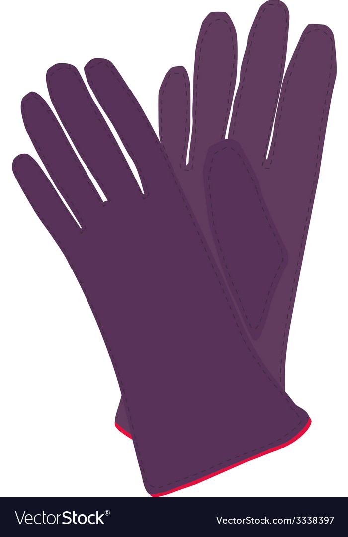 Winter gloves vector | Price: 1 Credit (USD $1)