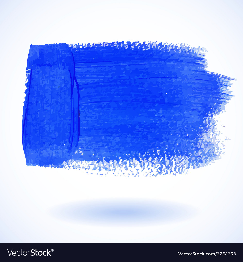 Blue watercolor banner vector | Price: 1 Credit (USD $1)