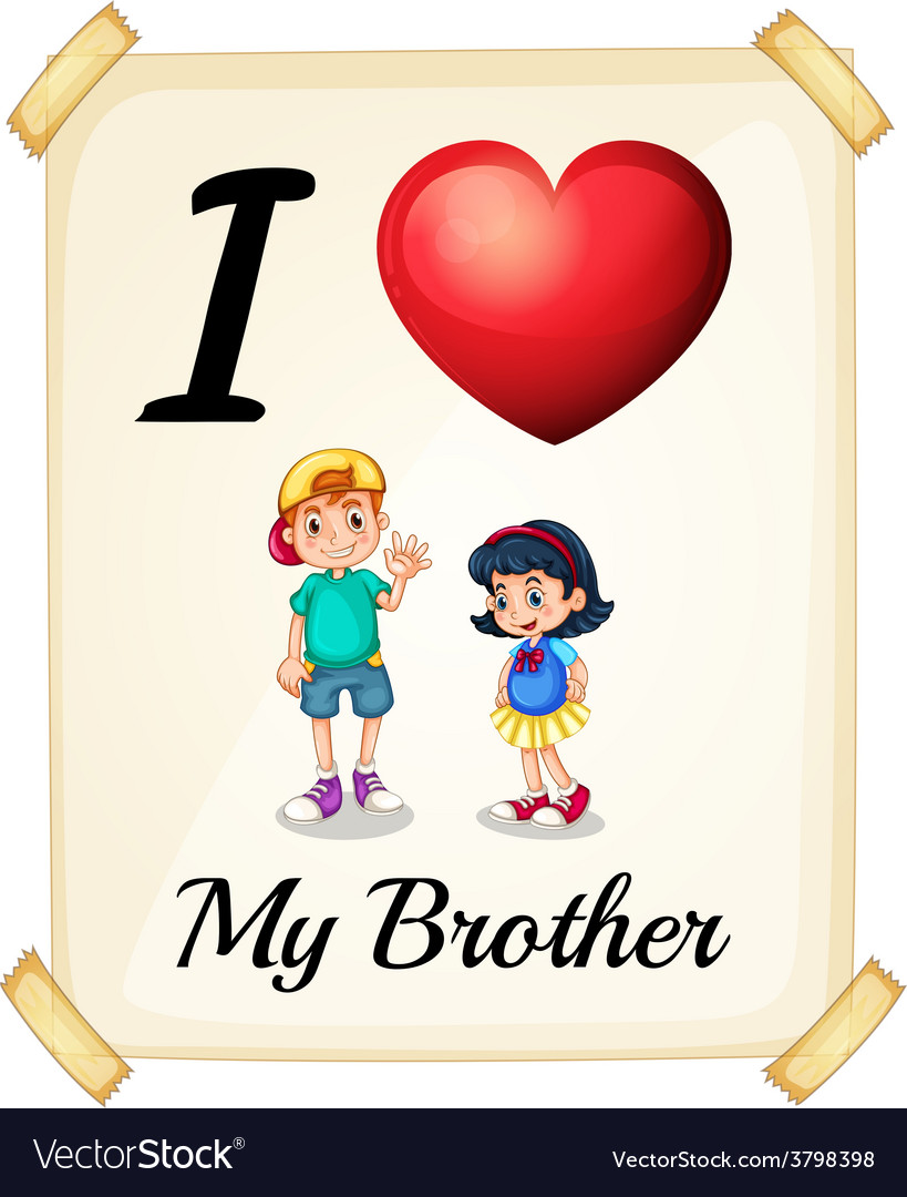 Brother vector   Price: 1 Credit (USD $1)