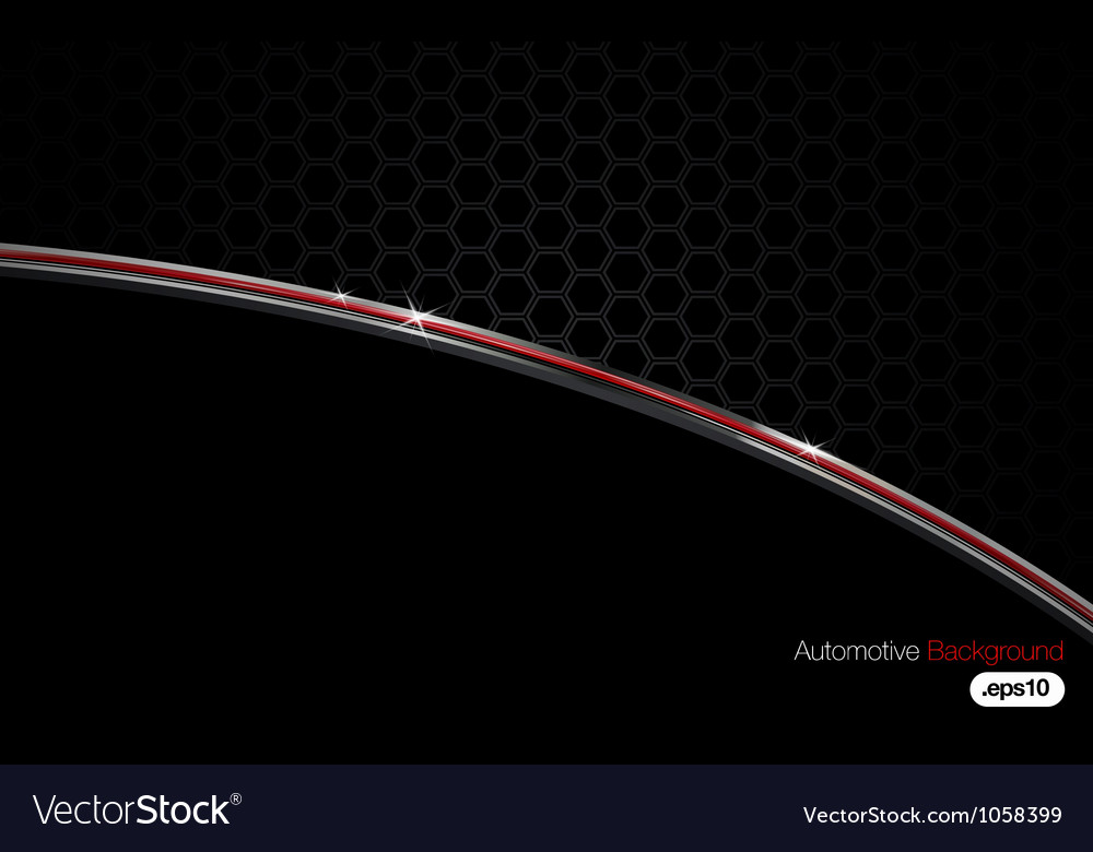Black n chrome automotive background vector | Price: 1 Credit (USD $1)