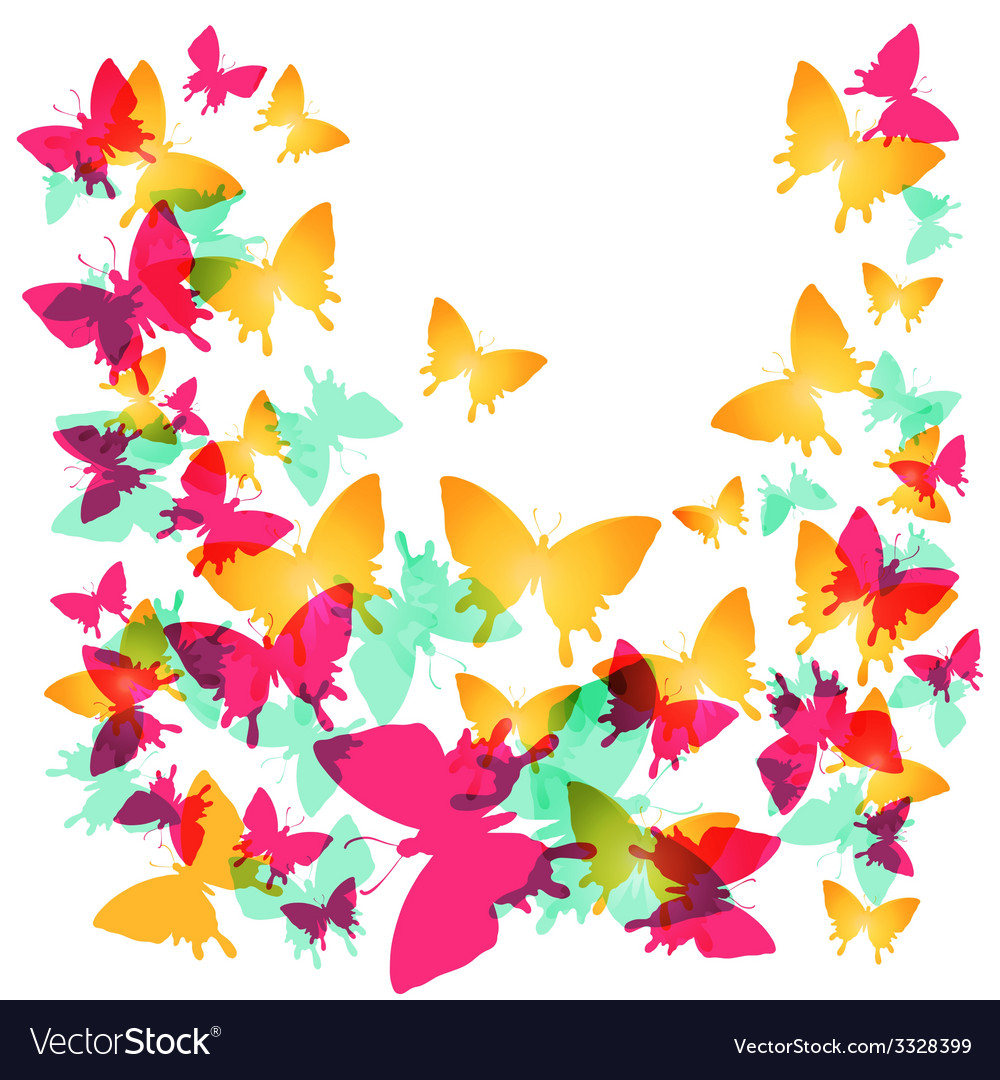 Butterwings-10 vector | Price: 1 Credit (USD $1)