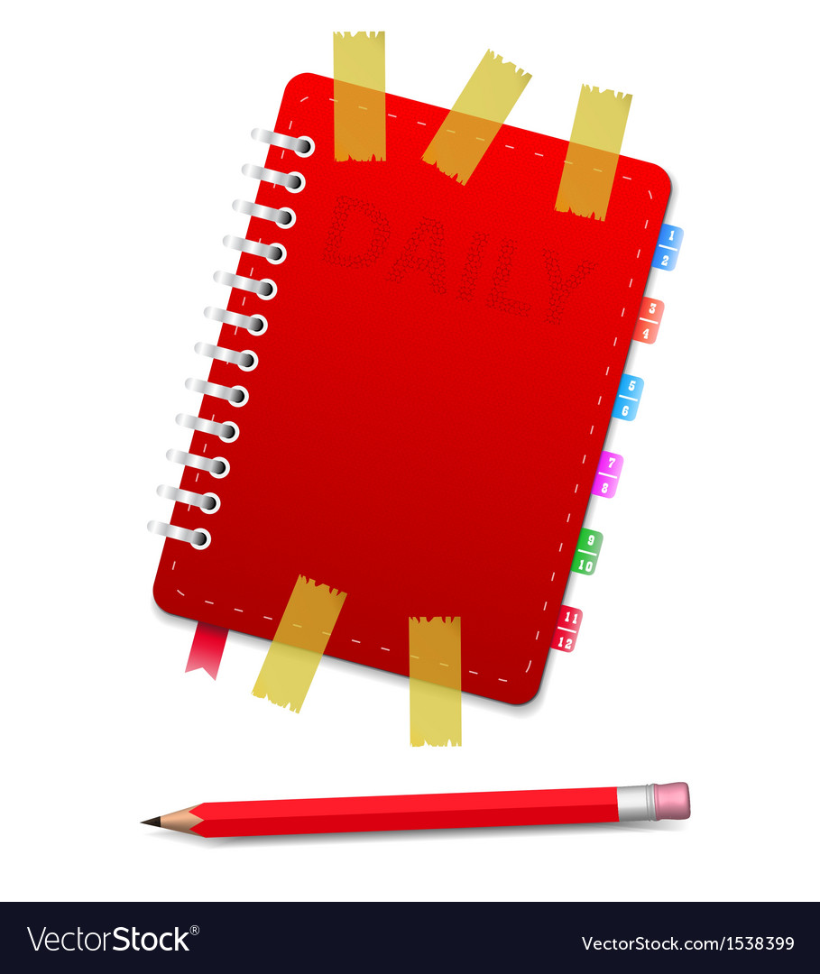 Daily and pensil and scotch vector   Price: 1 Credit (USD $1)