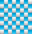 Checkered board blue vector