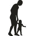 Family silhouette 03 vector