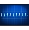 Abstract heart beats cardiogram eps 10 vector