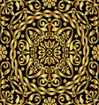 Gold asian ornament vector