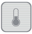 Thermometer icon temperature symbol vector