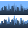 Generic cityscape vector