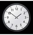 Classic time clock web vector