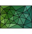 Triagles green black vector