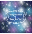 Christmas background with snowflakes eps10 vector