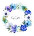 Nice anemones wearth vector