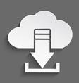 White cloud download 3d vector