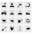 Farming icon set vector