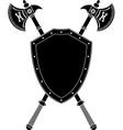 Long axes and shield vector