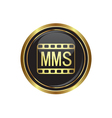 Mms icon vector