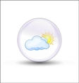 Bubble weather vector