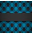 Blue tilted lumberjack plaid pattern vector