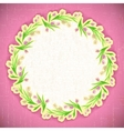 Pattern flower background april web vector