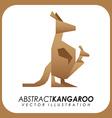 Abstract animal design vector