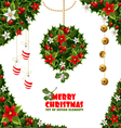 Christmas design elements background vector