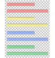 Transparent ruler 02 vector