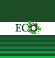 Eco word for background vector