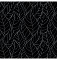 Leaves seamless stylish pattern vector
