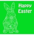 Happy easter green vector
