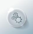 Symbol settings cogwheel vector