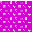 Purple background for wedding vector