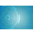 Abstract background - technology ring vector
