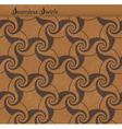Seamless pattern with spirals swirls vector
