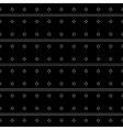 Seamless monochrome minimalistic pattern vector