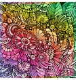 Abstract multicolor floral background vector