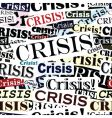 Crisis headlines tile vector
