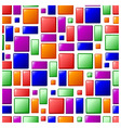 Funky tile design vector
