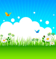 Summer grass vector